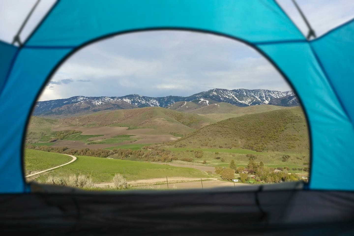 View from Mountain Ridge Campsite #1