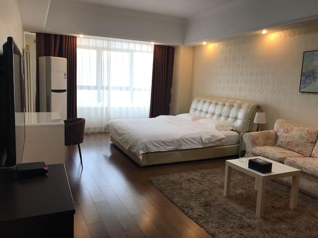 安阳万达广场SOHO公寓舒适大床房
