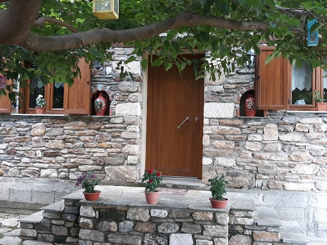Alexandra's traditional house