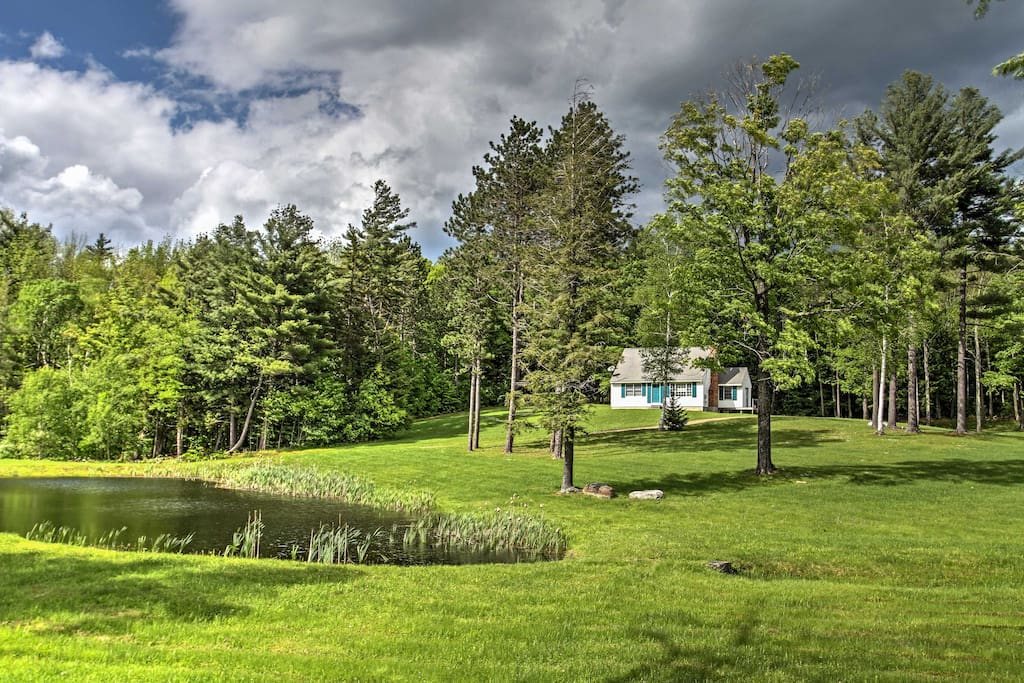 Relish the great outdoors while vacationing in Vermont.