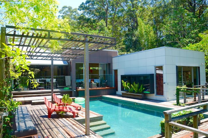 10 minutes to Noosa beach and surrounded by forest - Doonan - House