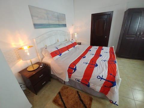 Increíble apto. cama king, cocina, sala+ (DS2)