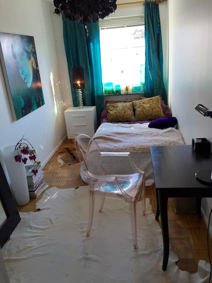 Room 5 minutes from Sthlm City