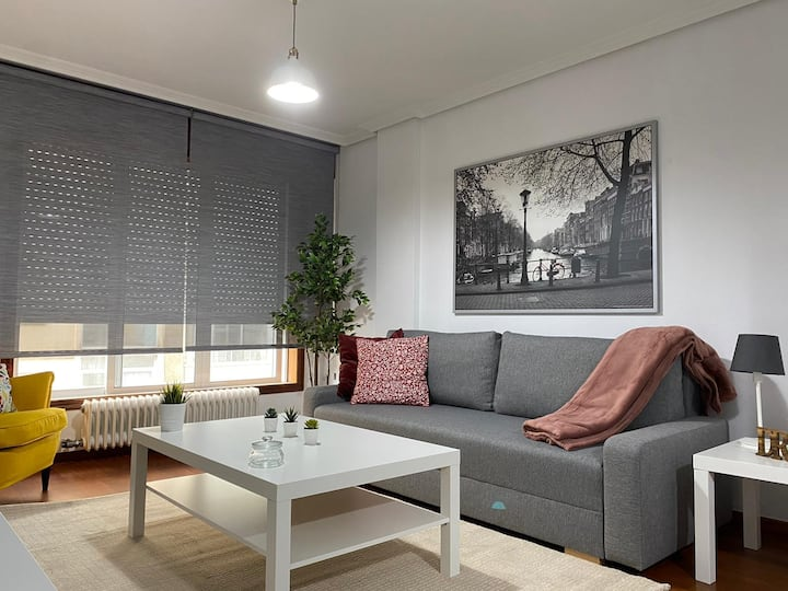 Completely renovated apartment in the center