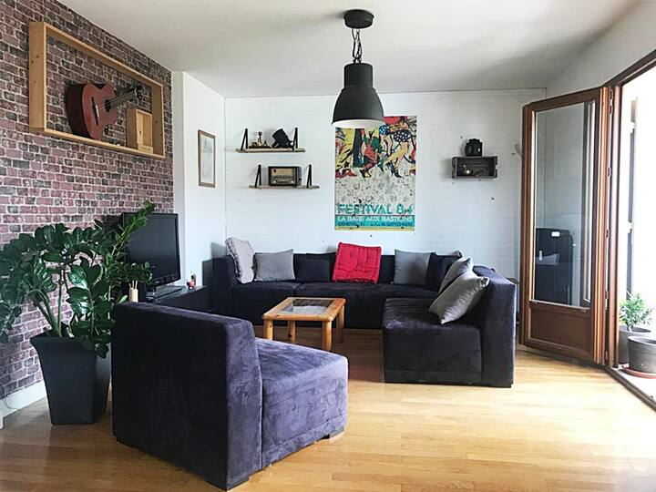 - Superbe appartement lumineux 75m² -