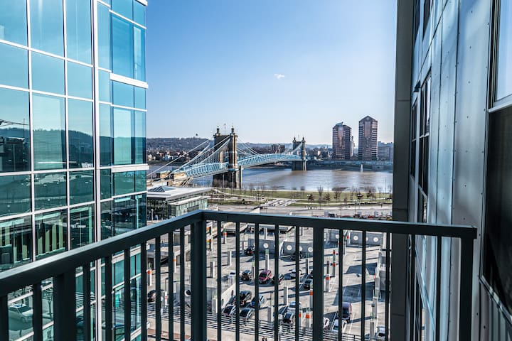 ⭐⭐⭐⭐⭐1BD/1BA Cincinnati's Best Suite