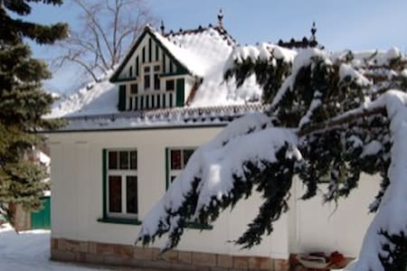 Kleine stilvolle Jugendstilvilla - Friedrichroda