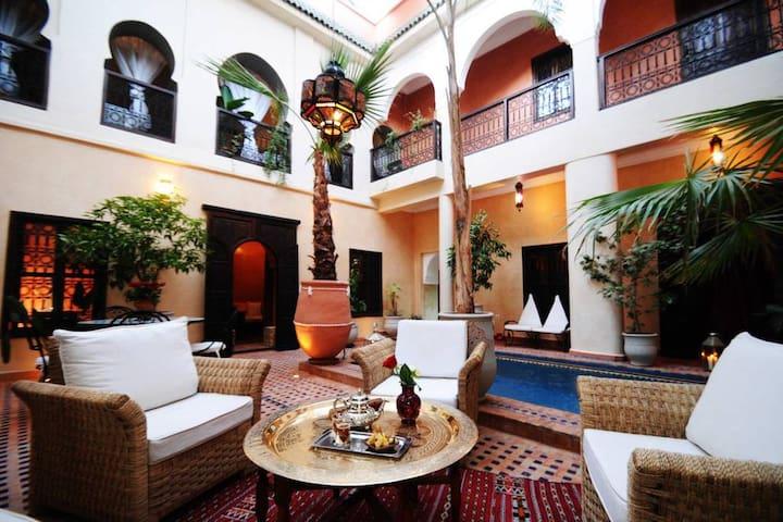 Riad Hadda Chambre Leila
