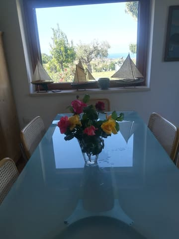 Tropea fully equipped house - garden & sea view
