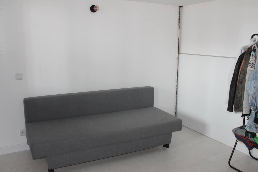 Chambre 1 clic/clac 140x200