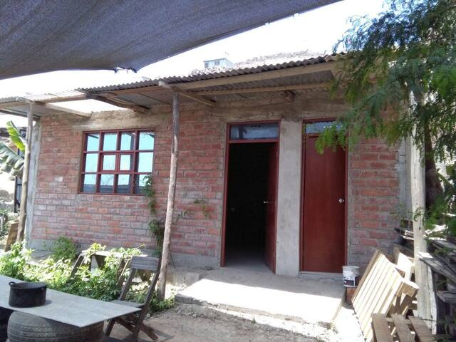 Acogedora Cabaña Simple p/ turistas - Distrito de Pachacámac - Natuur/eco-lodge