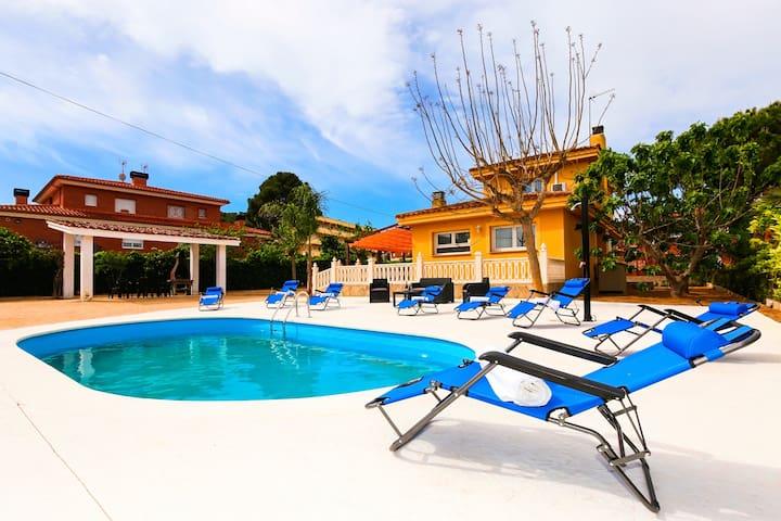 Villa Tropical Planetcostadorada, Nur Familien