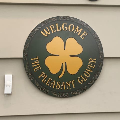 A warm Irish welcome to the Pleasant Clover