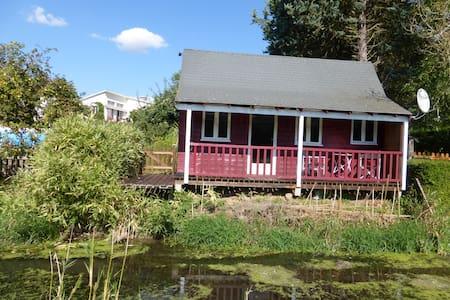 cottage au bord du canal Louis XIV - Bailleau-Armenonville - Bungalo