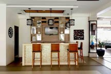 Bar Counter at Clubhouse Lounge  Area