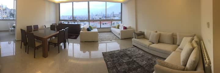 Amazing Brand New 3 bedrooms with a view - Hazmieh