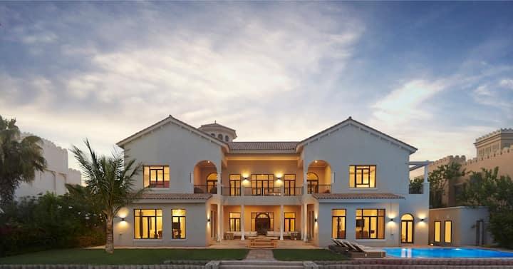 7,500 Sq Ft Palm Beachfront Estate
