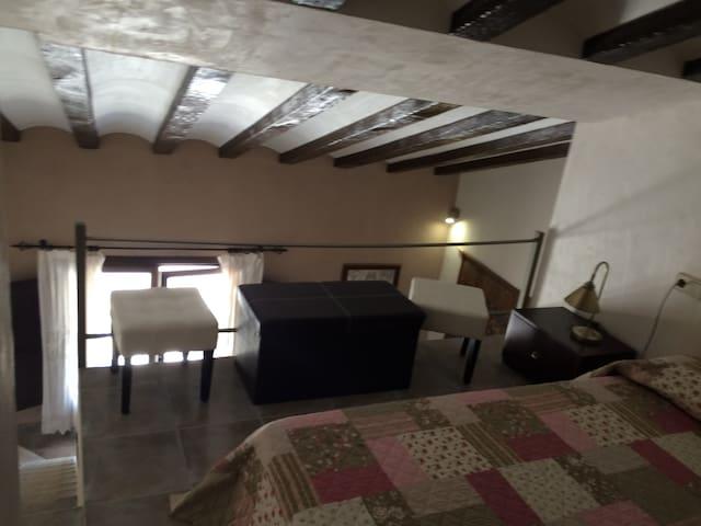 Loft upper gallery