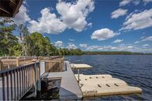 Rentals of boats and jet skies available in walking distance off the LAKE BRYAN