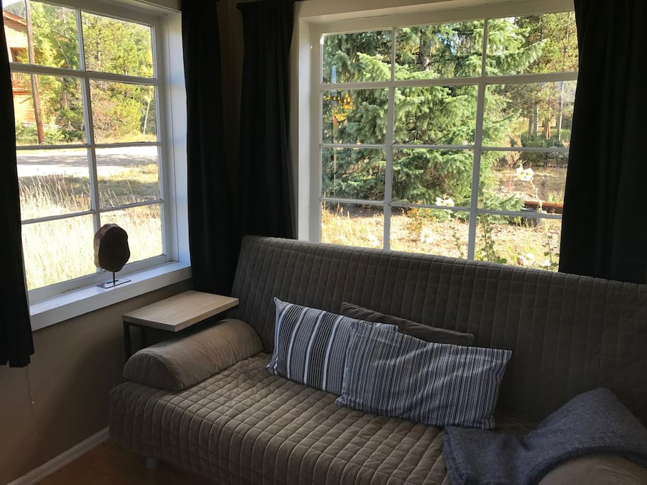Sunroom with Futon