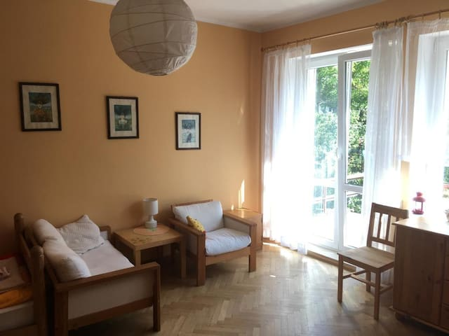 Dwuosobowy pokoj z balkonem w centrum Gdyni
