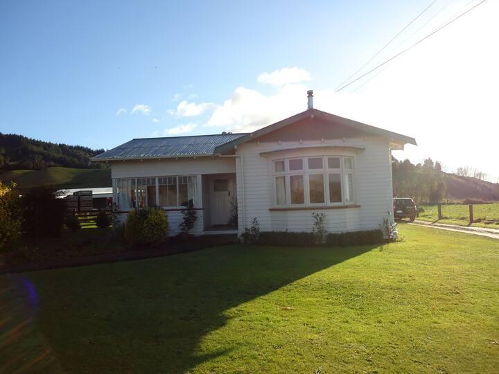 A friendly rural atmosphere - great views