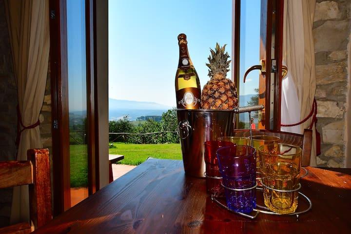 ZAFFIRO 2 PAX MAX · Apartment2 on the Chianti Hills and Swimming Pool