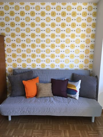 Cozy retro flat among apple fields - Vilpian - Apartemen