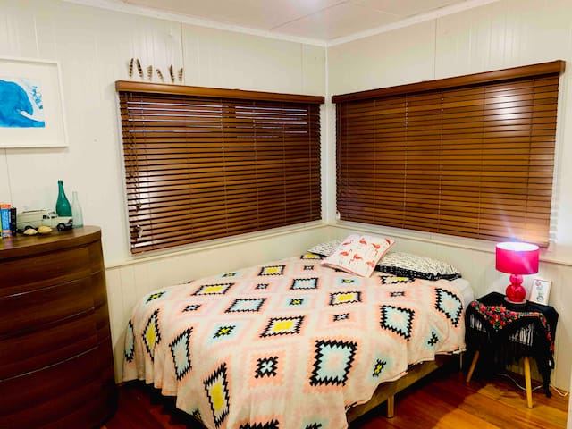Master bedroom with study nook