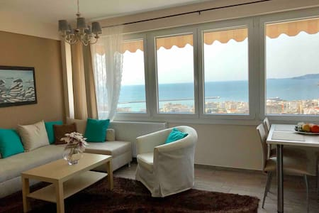 Top Kavala apartment ★ Amazing view ★ Free Parking