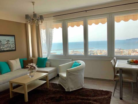 Top Kavala Apartment★Amazing View★ Free Parking