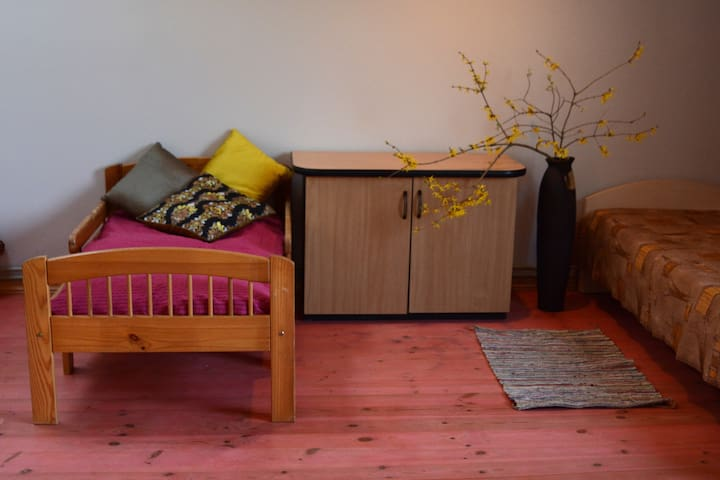 A room in Sigulda centre (4 beds + pull-out sofa)