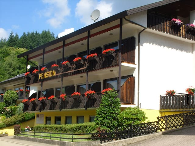 Single room with Breakfast in Black Forest Pension