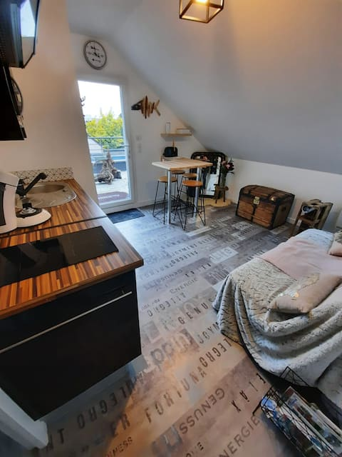 Appartement cosy -Savenay-  à 25mn La Baule/Nantes