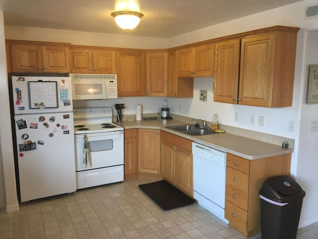 Shared kitchen area