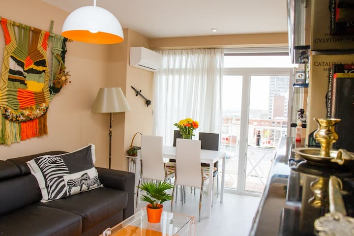 Castellana Chic, 4 people, 70 sq.m, terrace - Madrid