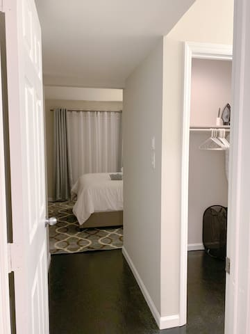 Entrance to the master bedroom.