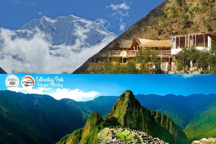 Hike to Macchu Picchu via Salkantay - Cusco - Cabana