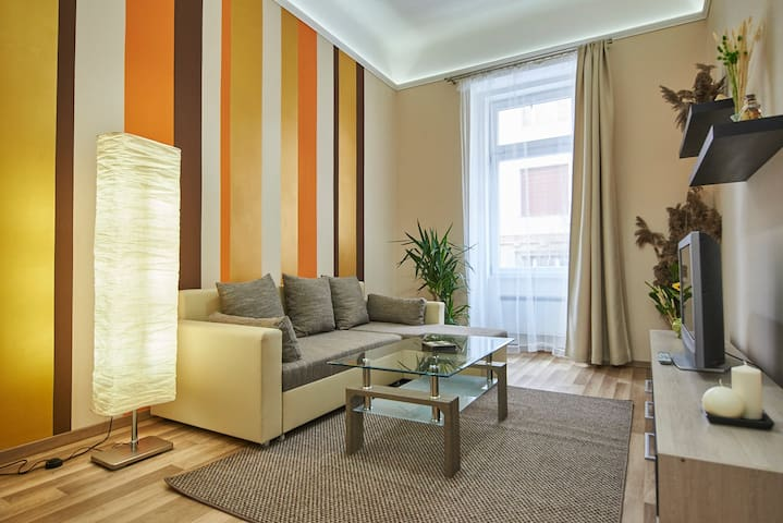 Central of Buda, child frendly loft - Budapest - Apto. en complejo residencial