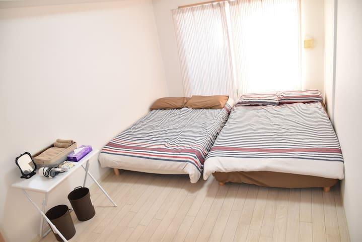 Near Namba‼︎【Free WiFi】☆Clean&Cozy☆ - Ōsaka-shi - Appartement