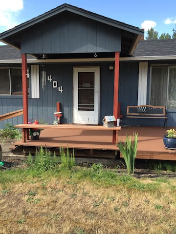 Country home with Mt. Rainier view - Yelm - Casa