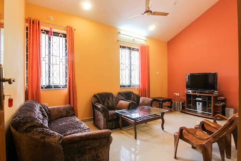 Comfortable 2 BHK apartment near Colva & Majorda 4
