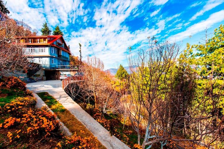 Luxury Room | Wooden Cottage | Adventure Heaven