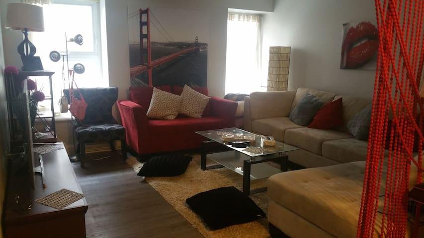 Appartement du Charme au cœur ville de Quebec - Ville de Québec - 公寓