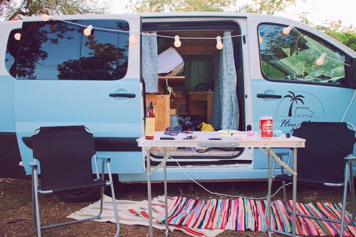 Custom build campervan
