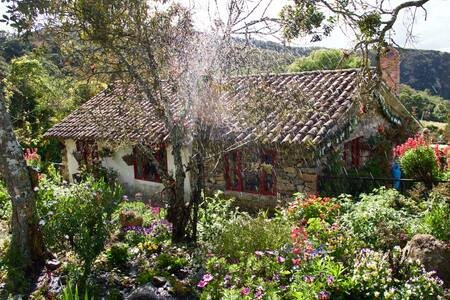 Reserva Natural El Chochal de Siecha - Guasca - Doğa içinde pansiyon