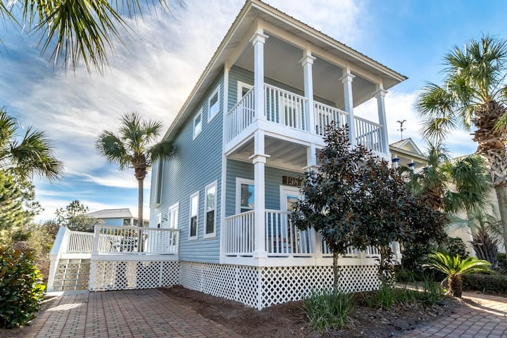 Large Porches, Pool,  Steps to Beach, Close to Gulf Place! - Beach Daze 30A at Blue Mtn