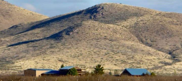 Beautiful secluded Ranch in Pearce, Arizona.