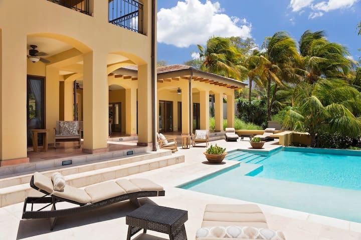 Wow! Fabulous Beachfront Villa w/ Infinity Pool