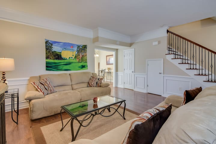 Spacious living room perfect for relaxing or entertaining.